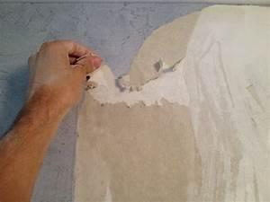 Décoller Papier Peint Sur Placo : comment bien d coller son papier peint sans abimer son mur ~ Dailycaller-alerts.com Idées de Décoration