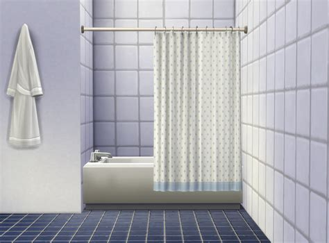 Tub Curtain by Mod The Sims Bathtub Curtain