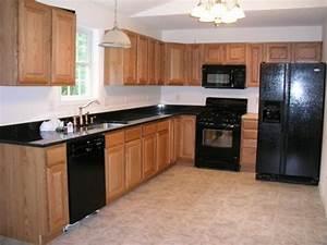 1000 ideas about black appliances on pinterest With kitchen designs with black appliances