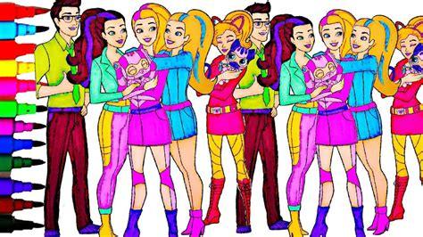 barbie coloring book  spy squad kids fun activities
