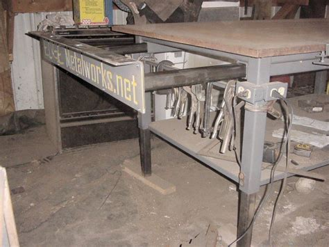 steel welding table plans welding table design pictures