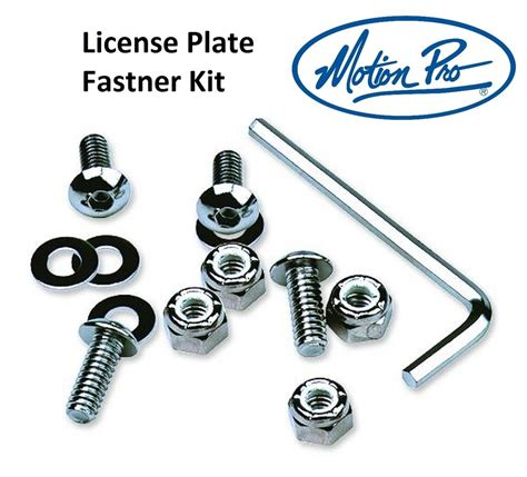 Bmw License Plate Screws by 2fastmoto License Plate Fastner Kit Bolts Tags Screws