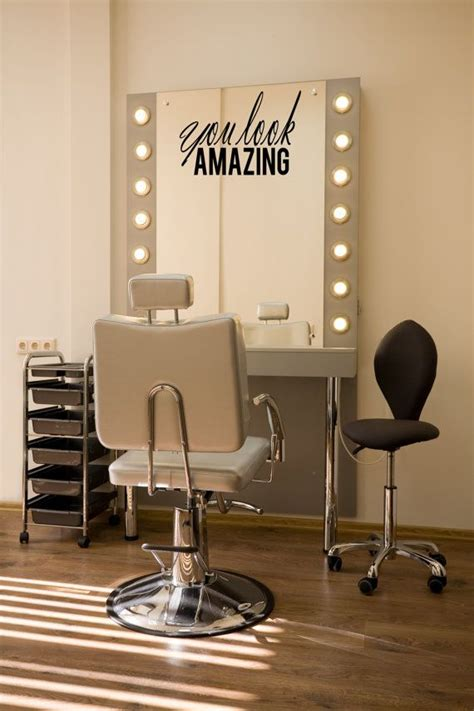 Bedroom Makeup Vanity With Lights by Beauty Salon Design Getting The Basics Right Ideal Magazine