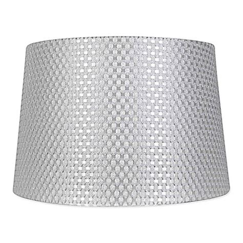 grey drum shade mix match large textured drum l shade in grey bed 1488