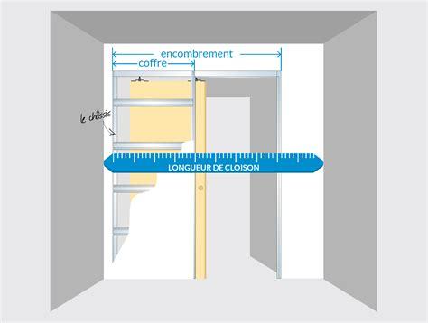 comment int 233 grer une porte 224 galandage dans un plan de maison infographie le porte