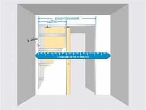 comment integrer une porte a galandage dans un plan de With comment mettre une porte coulissante