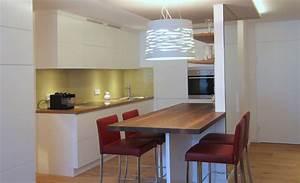 Küche Mit Integriertem Essplatz : offene k che mit essplatz innenarchitekt in m nchen andreas ptatscheck bayern ~ Markanthonyermac.com Haus und Dekorationen