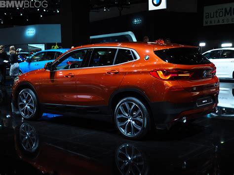 detroit auto show bmw   sunset orange