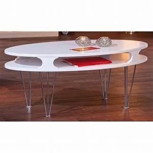 Table Basse Hauteur 60 Cm : table basse hauteur 60 cm cdiscount ~ Nature-et-papiers.com Idées de Décoration