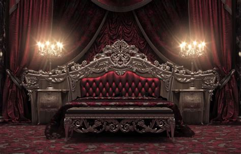 european style luxury carved bedroom settop
