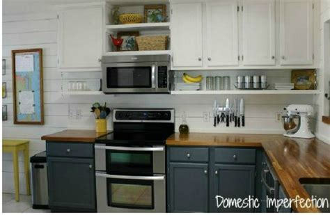 Ideas For Above Kitchen Cabinet Space - 15 clever ways to add more kitchen storage space with open shelves hometalk