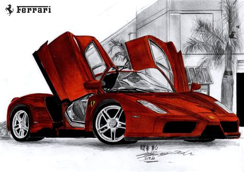 How To Draw A Enzo by 11 Hour Enzo Drawing By Toyonda On Deviantart