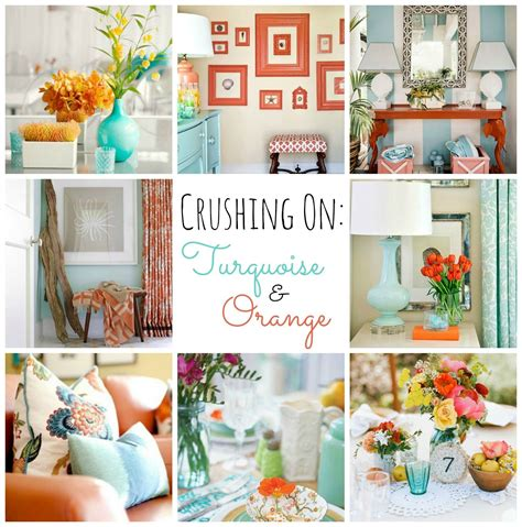 Turquoise And Orange Bedroom by Turquoise And Orange Fall Home Tour Home Orange