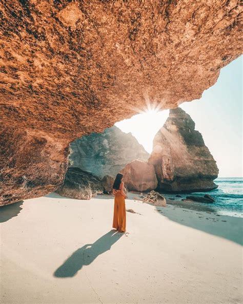 beaches  unique caves  bali