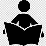 Symbol Reading Library Clipart Icon Books Transparent