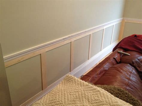 Great Example Of Some Simple Wainscoting Below A Chair