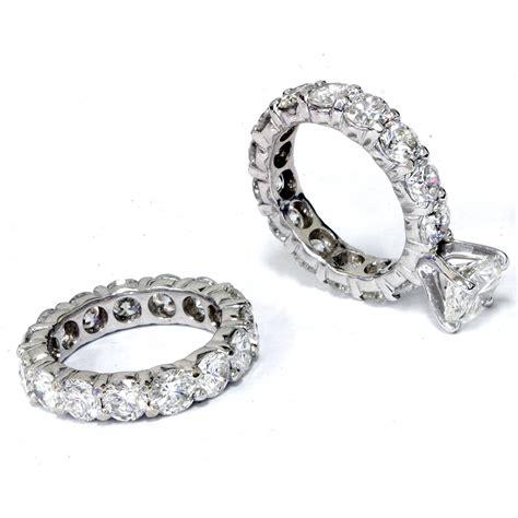 9 12ct Diamond Eternity Engagement Ring Wedding Set 14k. Platinum Bangles. Mens Engagement Rings. Plastic Rings. Gem Emerald. Cut Emerald. Beads Design. Nova Watches. Girls Chains