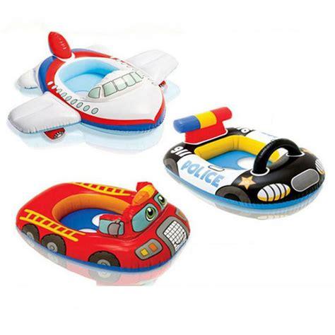 siege gonflable piscine bonne qualité mignon enfants bateau bébé gonflable tours