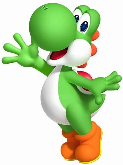 Nintendo Mario Super Yoshi Character Birthday Transparent