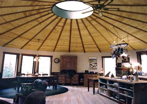 Or A Permanent Yurt ...
