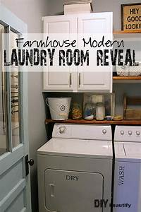 Diy, Small, Laundry, Room, Makeovers, On, A, Budget, 23