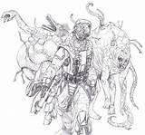 Flood Coloring Pages Getdrawings Halo Getcolorings sketch template