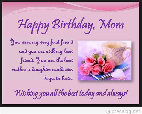 mothers birthday wishes