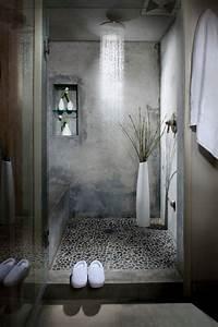 Paroi Salle De Bain : id e d coration salle de bain salle de bains zen tactile ~ Premium-room.com Idées de Décoration