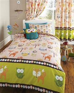 Enjoy, Your, Most, Precious, Time, With, Sketchy, Owl, Bedding