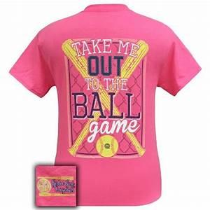 girlie originals preppy softball take me out to the