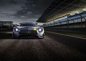 Wallpaper Mercedes AMG GT3, hypercar, coupe, gray , Cars