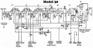 Philco Model 30 Radio Schematic Service Manual Download