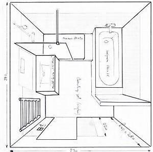 les 25 meilleures idees de la categorie plan salle de bain With dessiner plan de maison 9 baignoire rectangulaire