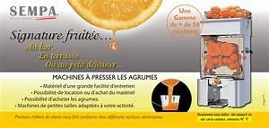 Machine Jus D Orange : sempa machines jus d 39 orange frais press presse ~ Farleysfitness.com Idées de Décoration