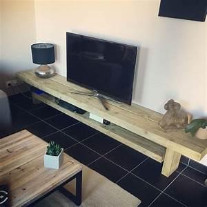 Meuble Fait Maison : meuble tv fait maison par mon homme design home decor ~ Voncanada.com Idées de Décoration