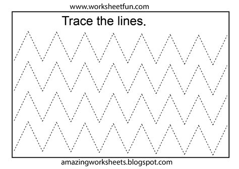 free printable tracing worksheets preschool preschool