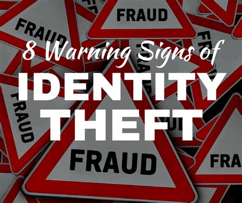 warning signs  identity theft    fight