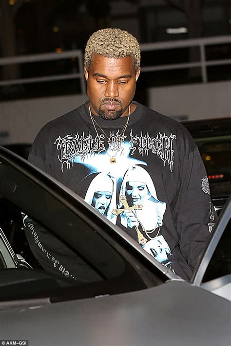 Kanye West seen for first time since death of relative ...