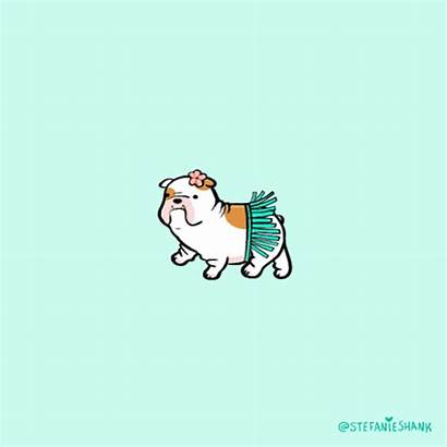Animated Animals Kawaii Dog Pastel Background Puppy