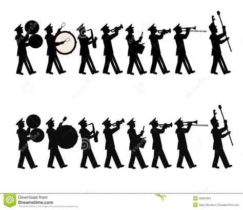 Marching Band Clipart Marching Band Stock Image Image 35864361 Beyond The