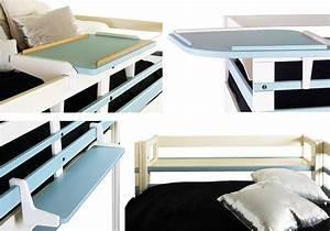 Table Pour Lit : chevet pour lit mezzanine smart factory ~ Dode.kayakingforconservation.com Idées de Décoration