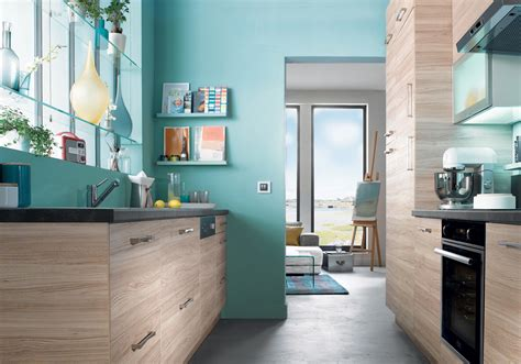 cuisine bleu beautiful cuisine bleu turquoise et photos design