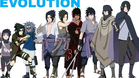 Characters Evolution Forms/all Jutsu