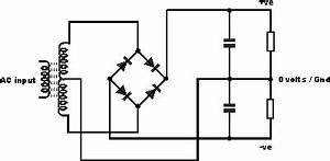 rectifier connecting center tapped transformer to earth With full wave diode rectifier circuit diagram for centre tapped
