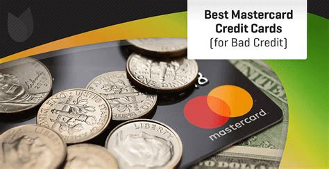 Just because you have bad credit doesn't mean you don't deserve rewards. 6 Best Mastercard Cards for Bad Credit (2021)