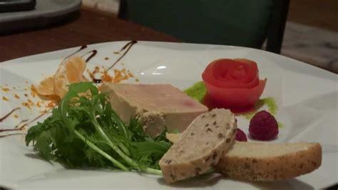 dresser assiette foie gras avec wesley durand youtube