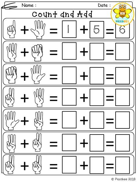 math number addition  images kindergarten math