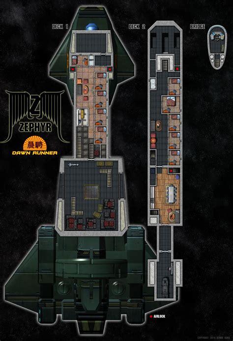 Starship Deck Plans Wars by Zephyr Class Deck Plans By Tensen01 Deckplans Starship
