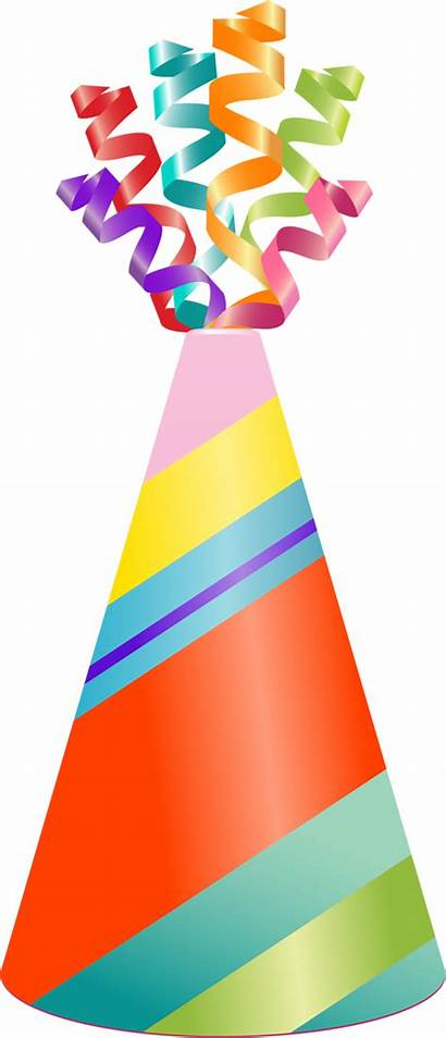 Birthday Clip Clipart Party Happy Decoration Library