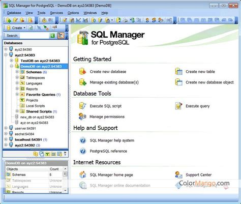ems sql manager  postgresql     cross sell